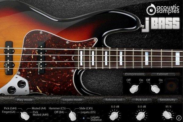 Acousticsamples JBass