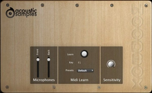 Acousticsamples WoodBoxes
