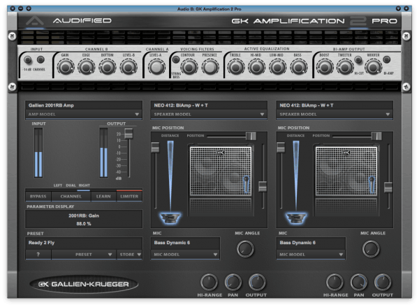 Audified GK Amplification Pro