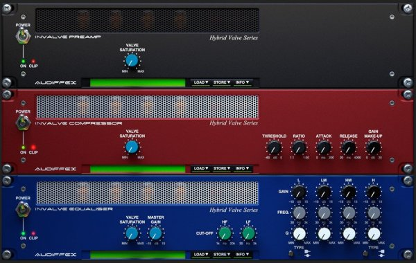 Audified InValve Effects