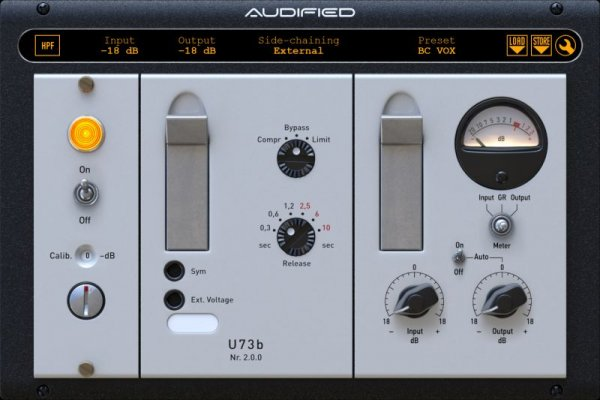 Audified U73b Compressor v.2.0