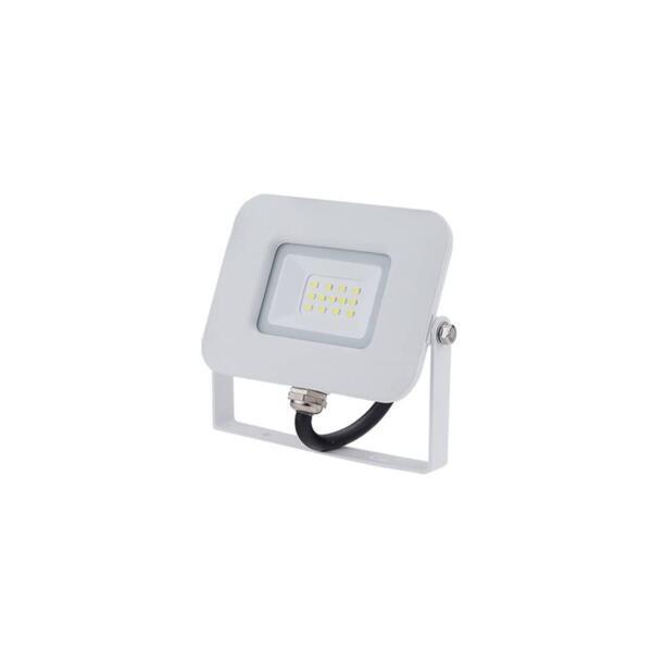 LED SMD ПРОЖЕКТОР БЯЛ 10W AC170-265V 150° IP65 4500K 70CM CABLE