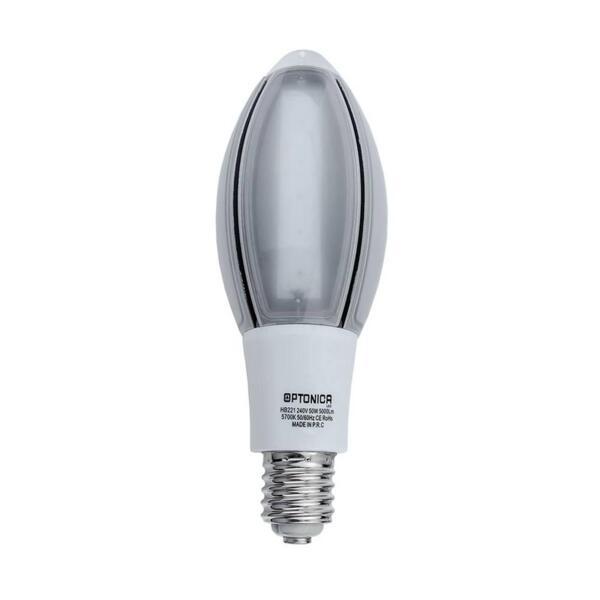 LED E40 110-240V 50W 5700K 100LM/W 0.95PF - 2 ГОДИШНА ГАРАНЦИЯ