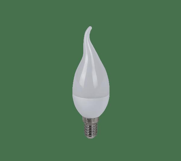 LED КРУШКА FLAME 6W E14 230V 6400K