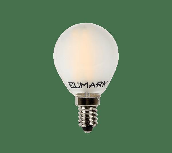 ДИМИРУЕМА LED КРУШКА GLOBE G45 FILAMENT 4W E14 2700K