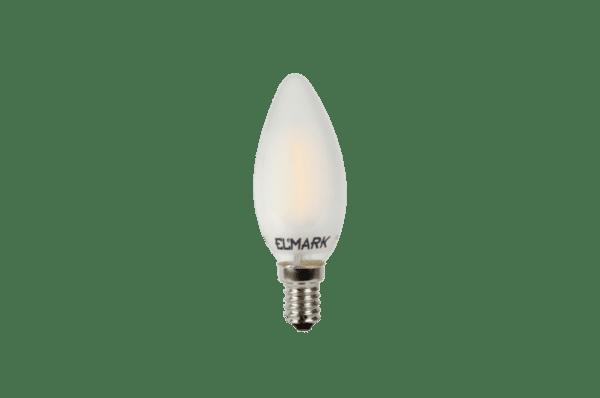 ДИМИРУЕМА LED КРУШКА CANDLE C35 FILAMENT 4W E14 2700K