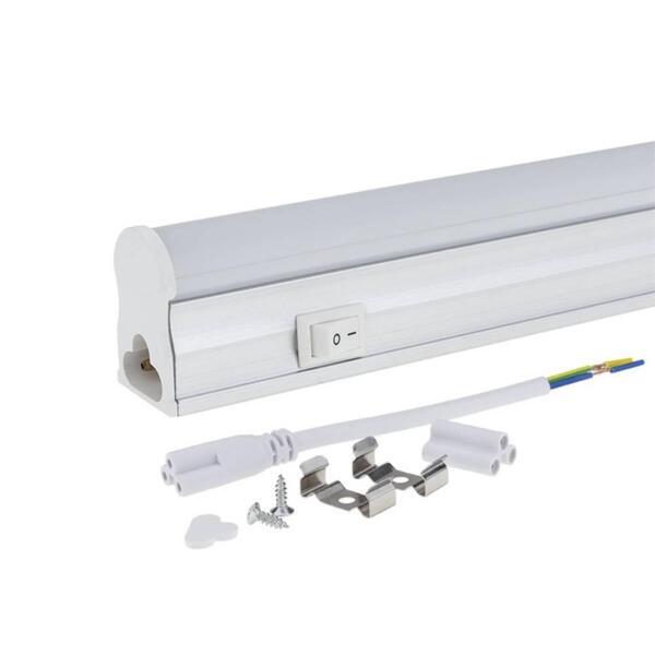 LED ПУРА T5 31 CM 4W/AC165-265V MAT 6000K С КЛЮЧ