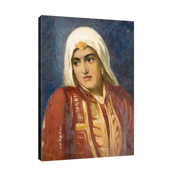 Иван Мърквичка - Момиче в традиционна носия №11039