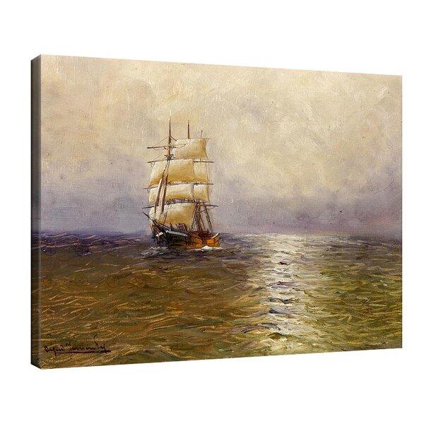 Алфред Йенсен - Барка в морето №11042