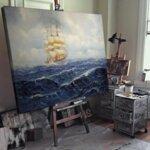 Алфред Йенсен - Ветроходен кораб