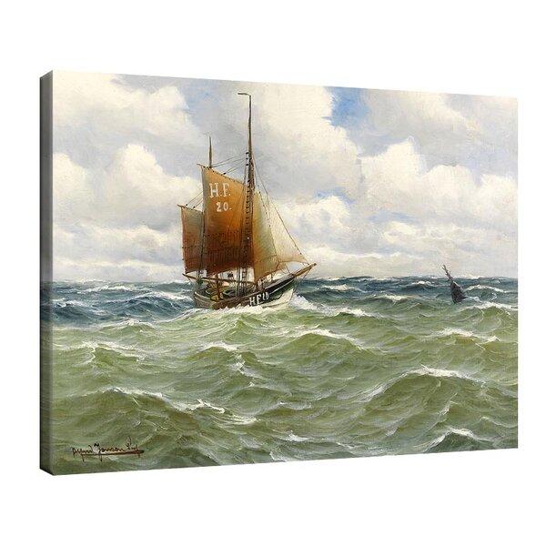 Алфред Йенсен - Риболовен траулер в открито море №11046