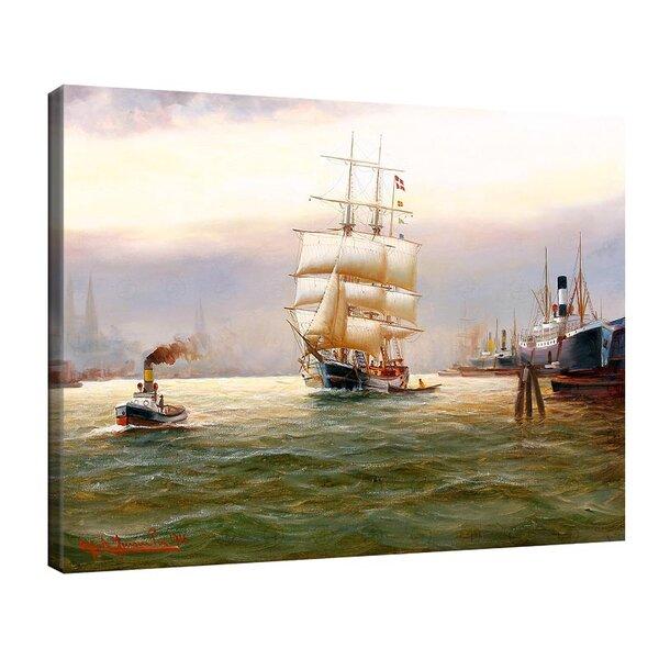 Алфред Йенсен - Хамбургска пристанищна сцена №11047