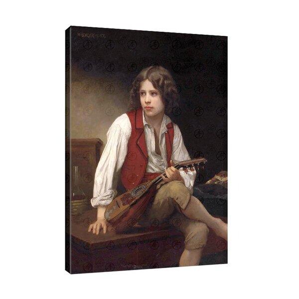 Уилям Бугеро - Юноша с мандолина №11076