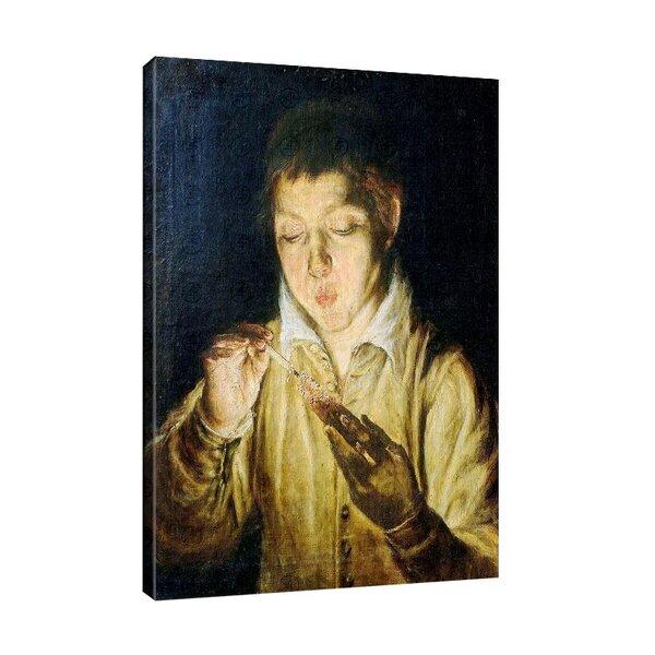 Ел Греко - Момче палещо свещ №11078
