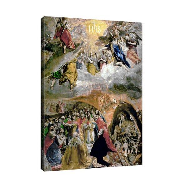 Ел Греко - Поклонение пред Името на Иисус (Сънят на Филип II) №11082