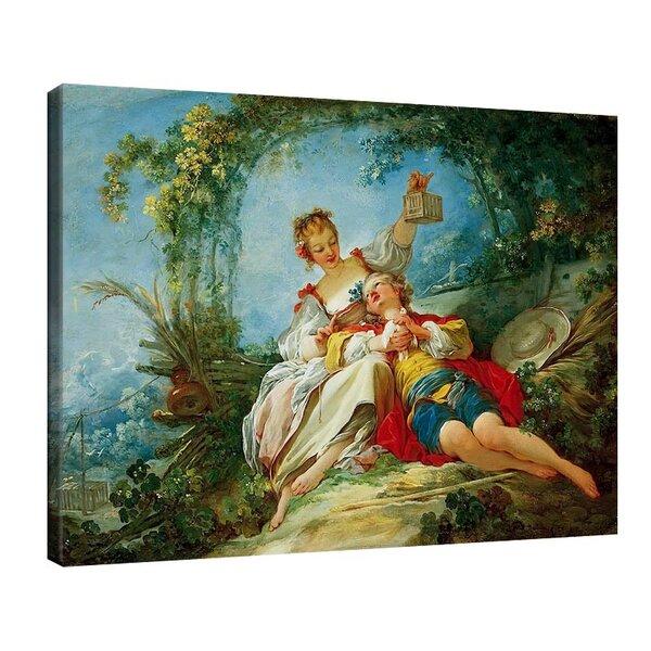 Жан-Оноре Фрагонар - Щастливите влюбени №11089