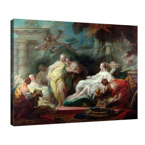 Жан-Оноре Фрагонар - Психея показва даровете на Купидон на сестрите си №11093