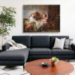 Жан-Оноре Фрагонар - Открадната целувка №11094