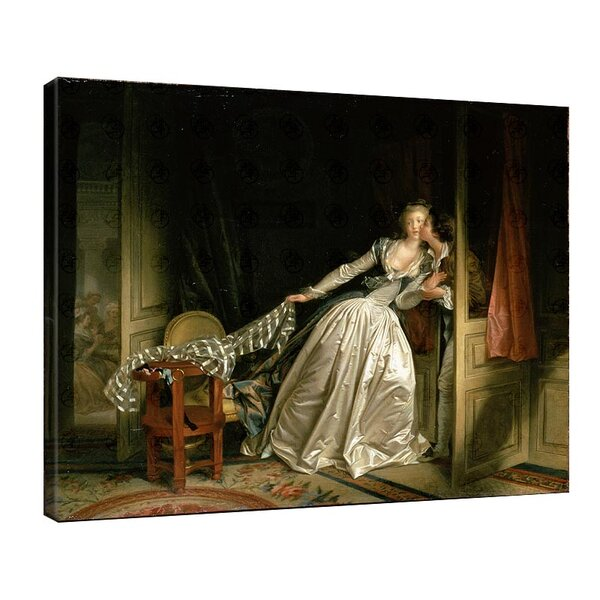 Жан-Оноре Фрагонар - Открадната целувка №11101