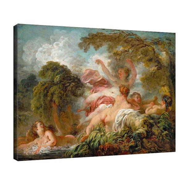 Жан-Оноре Фрагонар - Къпещи се №11108
