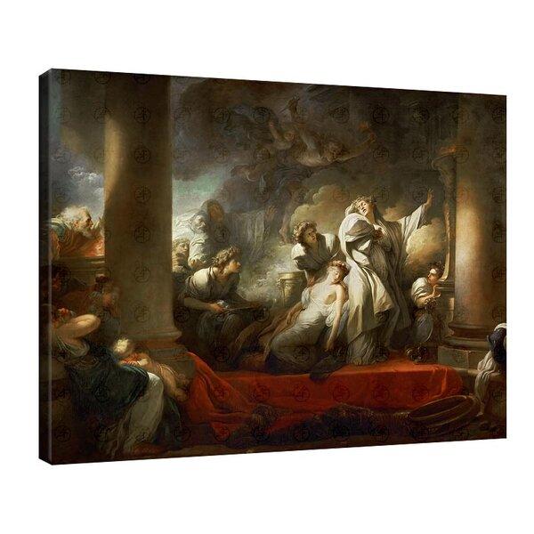 Жан-Оноре Фрагонар - Корез се жертва в името на спасяването на Калирой №11109