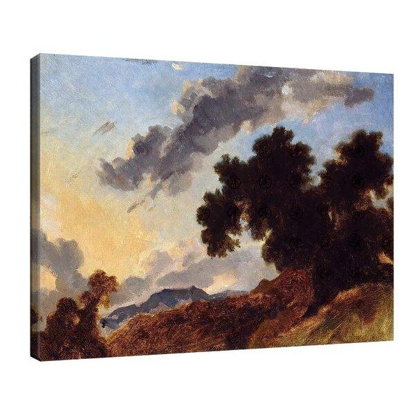 Жан-Оноре Фрагонар - Планински пейзаж при залез №11112