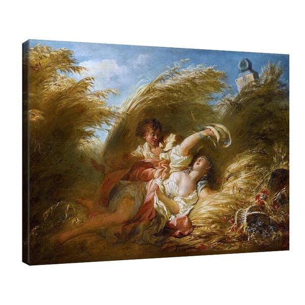 Жан-Оноре Фрагонар - В пшеницата №11114