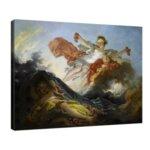 Жан-Оноре Фрагонар - Аврора тържествуваща над нощта