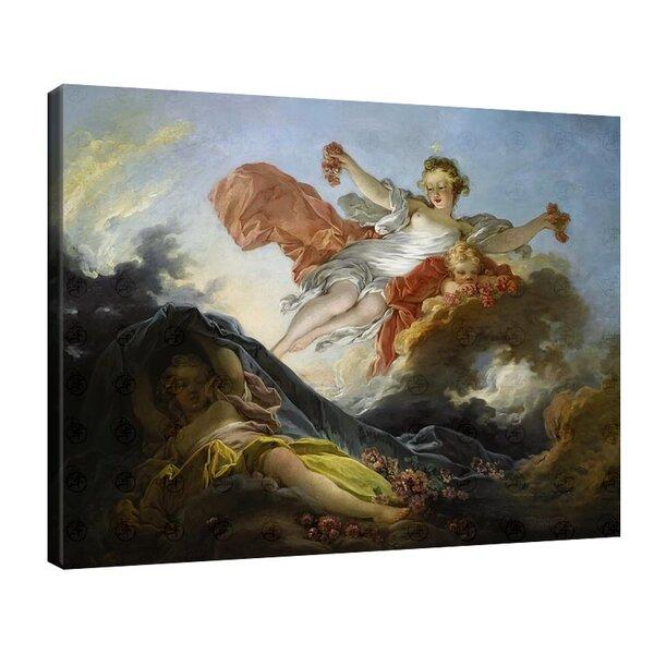 Жан-Оноре Фрагонар - Аврора тържествуваща над нощта №11115