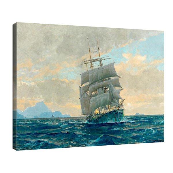 Михаел Димер - Ветроходен кораб от Капри №11133