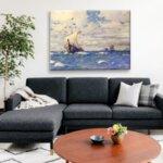Михаел Димер - Ветроходен кораб от Капри №11133-Copy