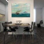 Михаел Димер - Поглед към Дубровник №11143-Copy