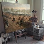 Туре де Тулструп - Битката при Алатун. 1888 г. №11151-Copy