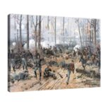 Туре де Тулструп - Битката при Спотсилвания. 1887 г. №11153-Copy