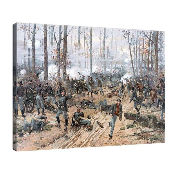 Туре де Тулструп - Битката при Шило. 1888 г. №11154