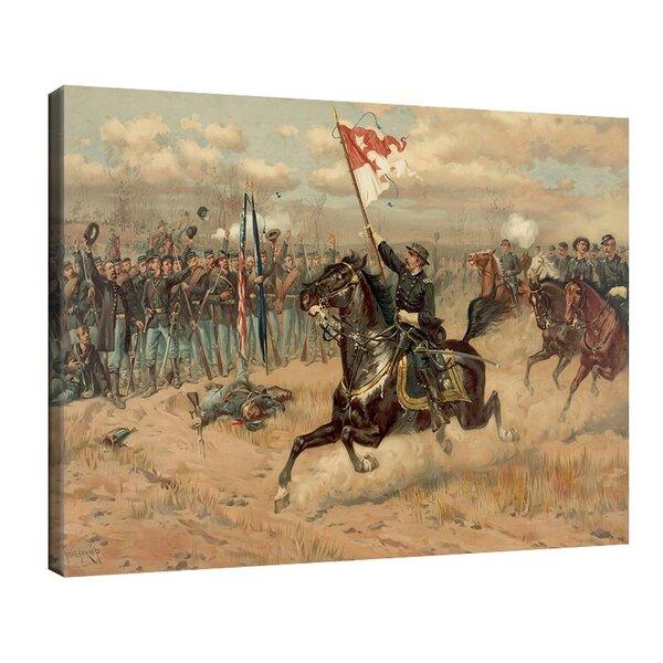 Туре де Тулструп - Пристигането на Шеридан. 1880 г. №11155