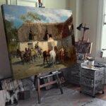 Алфред Ковалски - Разходка с шейни  №11176-Copy