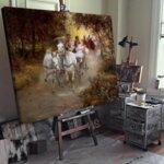 Алфред Ковалски - Сватбата на селянин  №11178-Copy