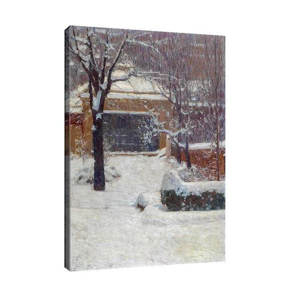 Карл Мол - Зима в градините Ротшилд  №11182