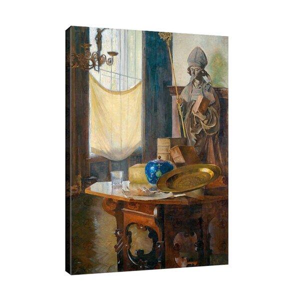 Карл Мол - Изглед към студиото  №11183