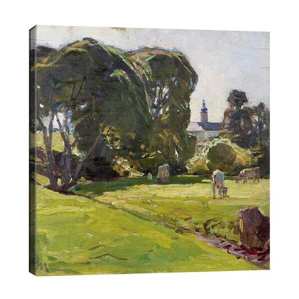 Карл Мол - Изглед към замъка Брунтал  №11189