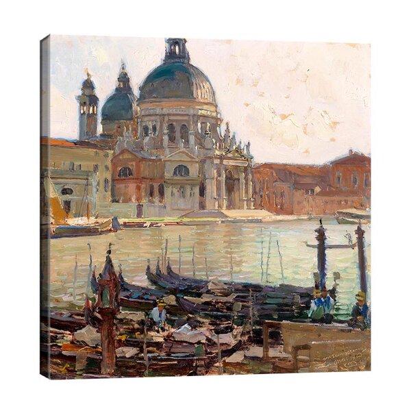 Карл Мол - Санта Мария дела Салюте, Венеция  №11197