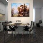 Алберт Ригер - Изглед към замъка Мирамаре  №11201-Copy