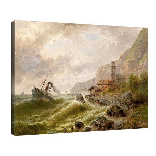 Алберт Ригер - Рибарско селище в Норвегия №11211