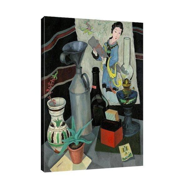 Рудолф Вакер - Натюрморт с китайска картина №11218