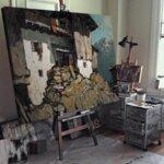 Рудолф Вакер - Натюрморт със Свети Себастиан №11219-Copy