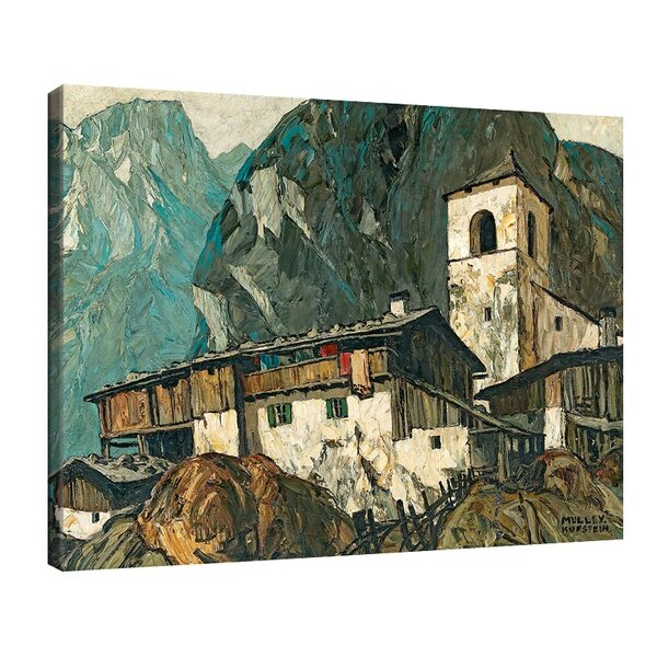 Оскар Мюли - Планинска църква и ферма №11228