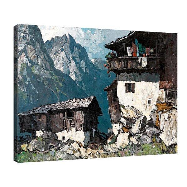 Оскар Мюли - Ферма във високите планини №11230