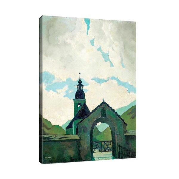 Оскар Мюли - Изглед на църква, преди 1920 г. №11233