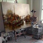 Оскар Мюли - В есенна гора №11238-Copy